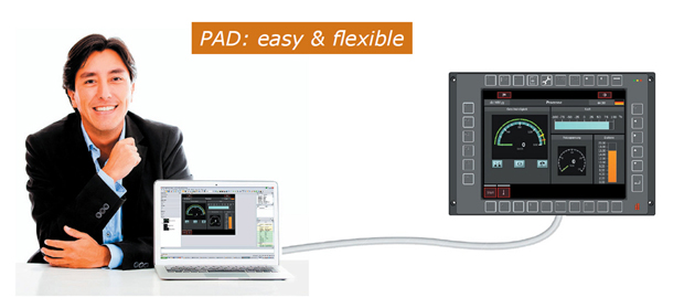 Everything under control with PAD